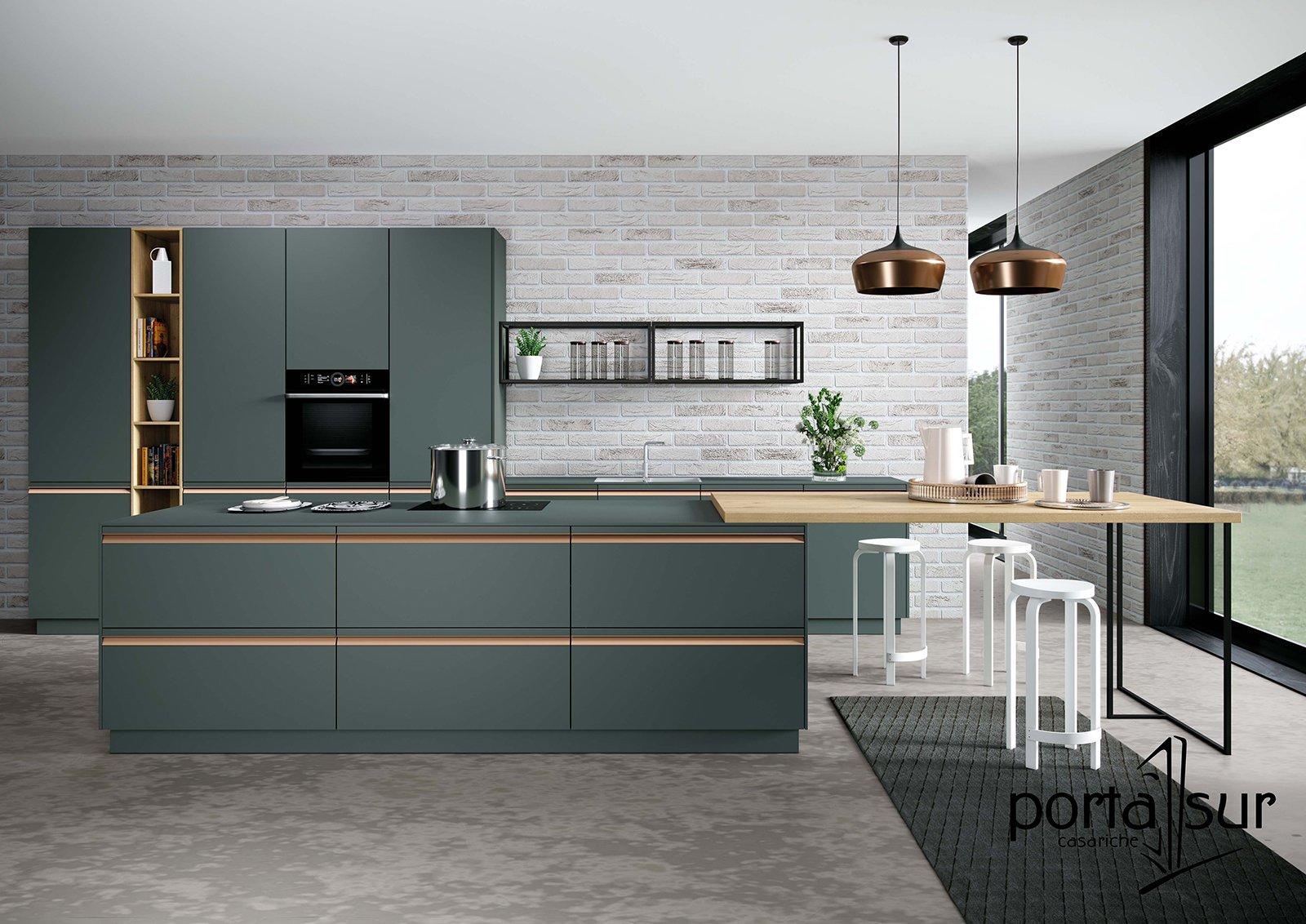 Tipos de materiales para las puertas de tu cocina.